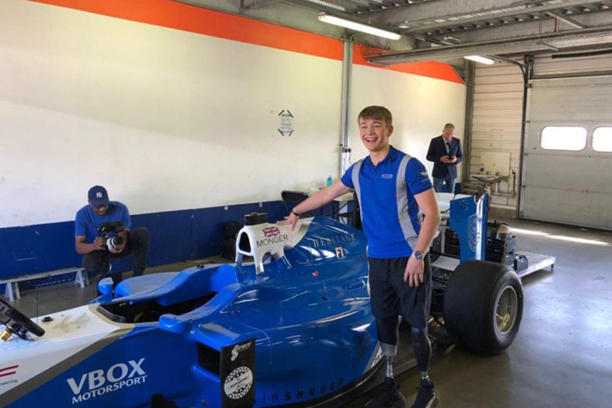 F1 ビリー・モンガー
