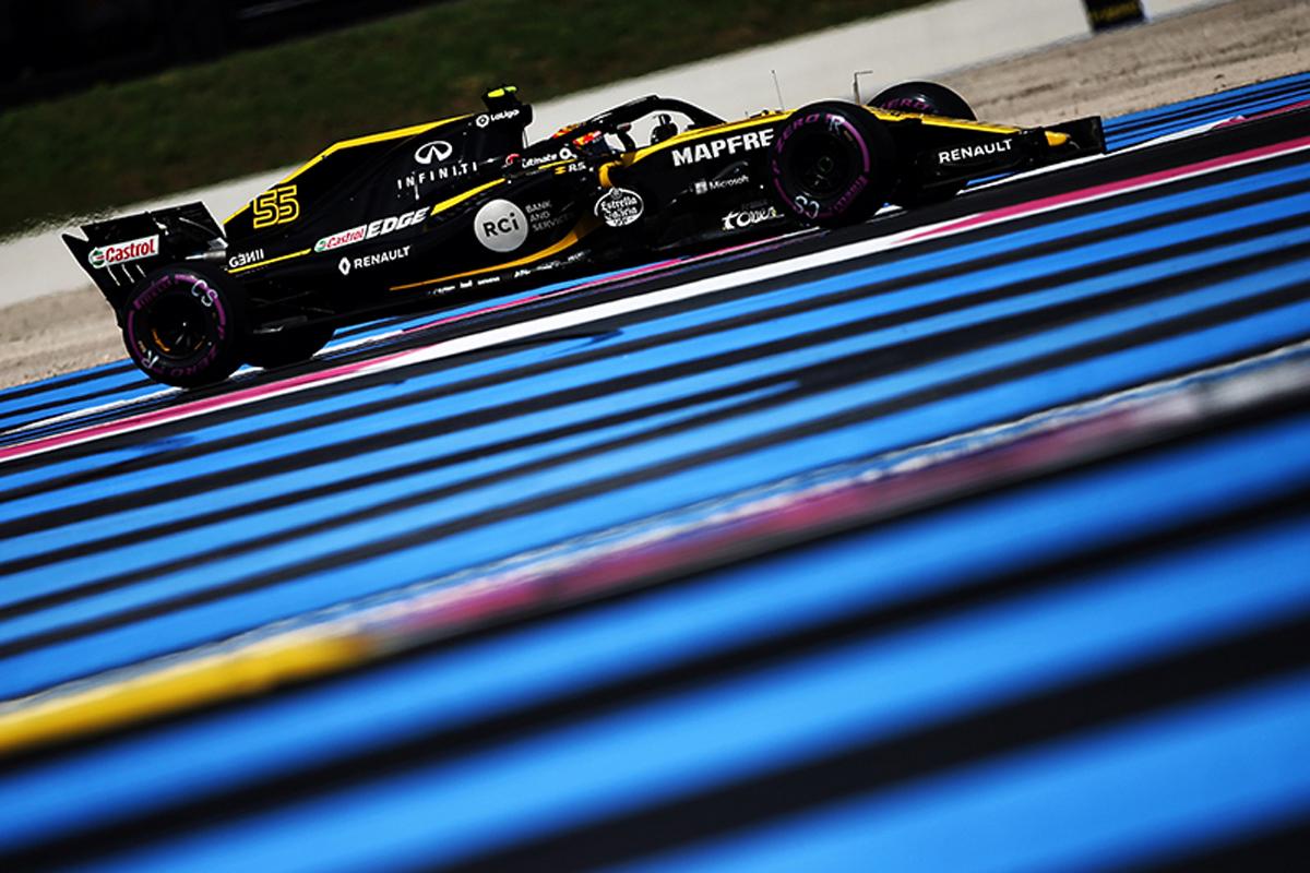 F1 ルノーF1 フランスグランプリ