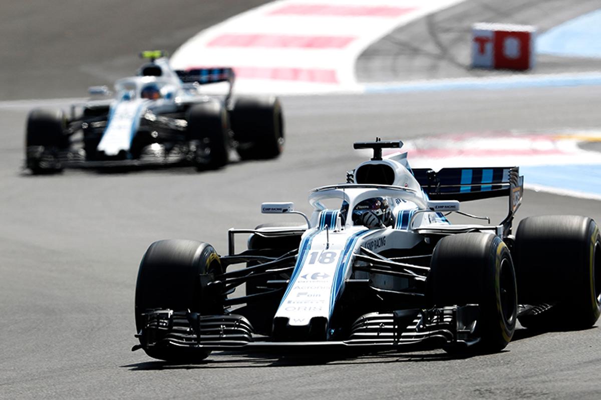 F1 ウィリアムズ フランスグランプリ 2018年のF1世界選手権