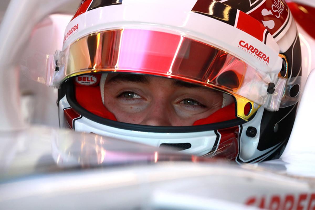 F1 シャルル・ルクレール ザウバー