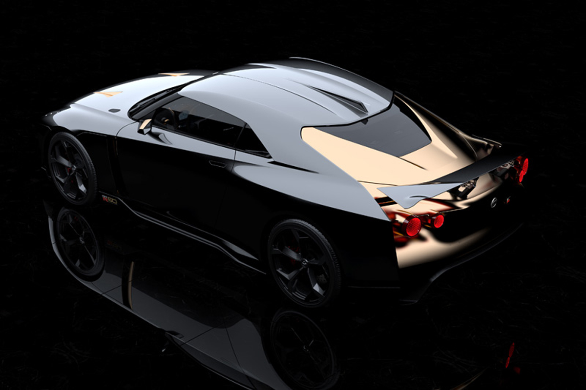 Nissan GT-R50 by Italdesign リアビュー
