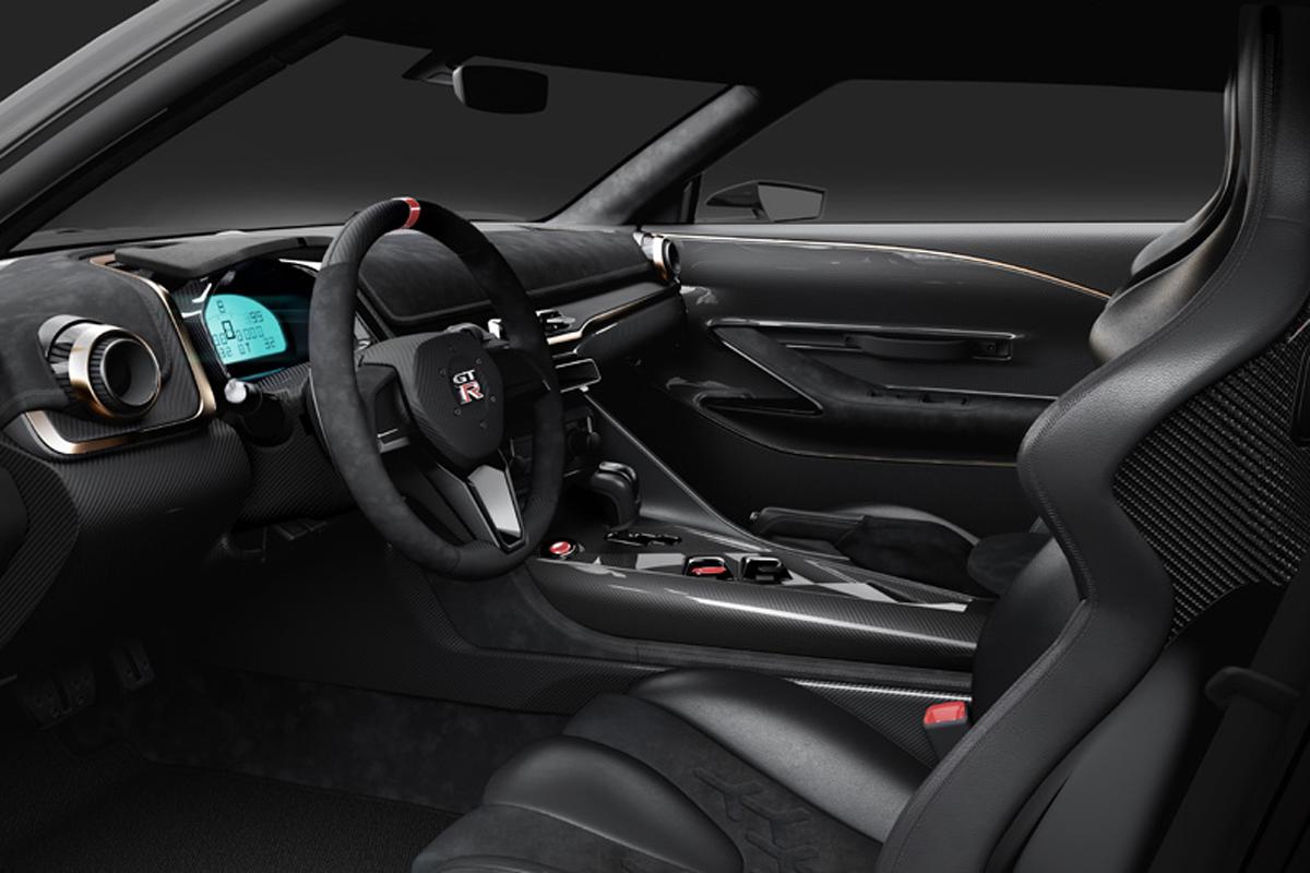 Nissan GT-R50 by Italdesign ドライバーシート