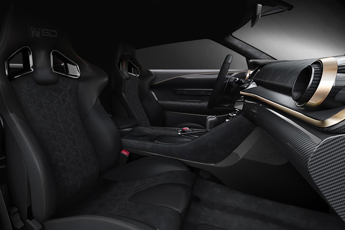 Nissan GT-R50 by Italdesign インテリア