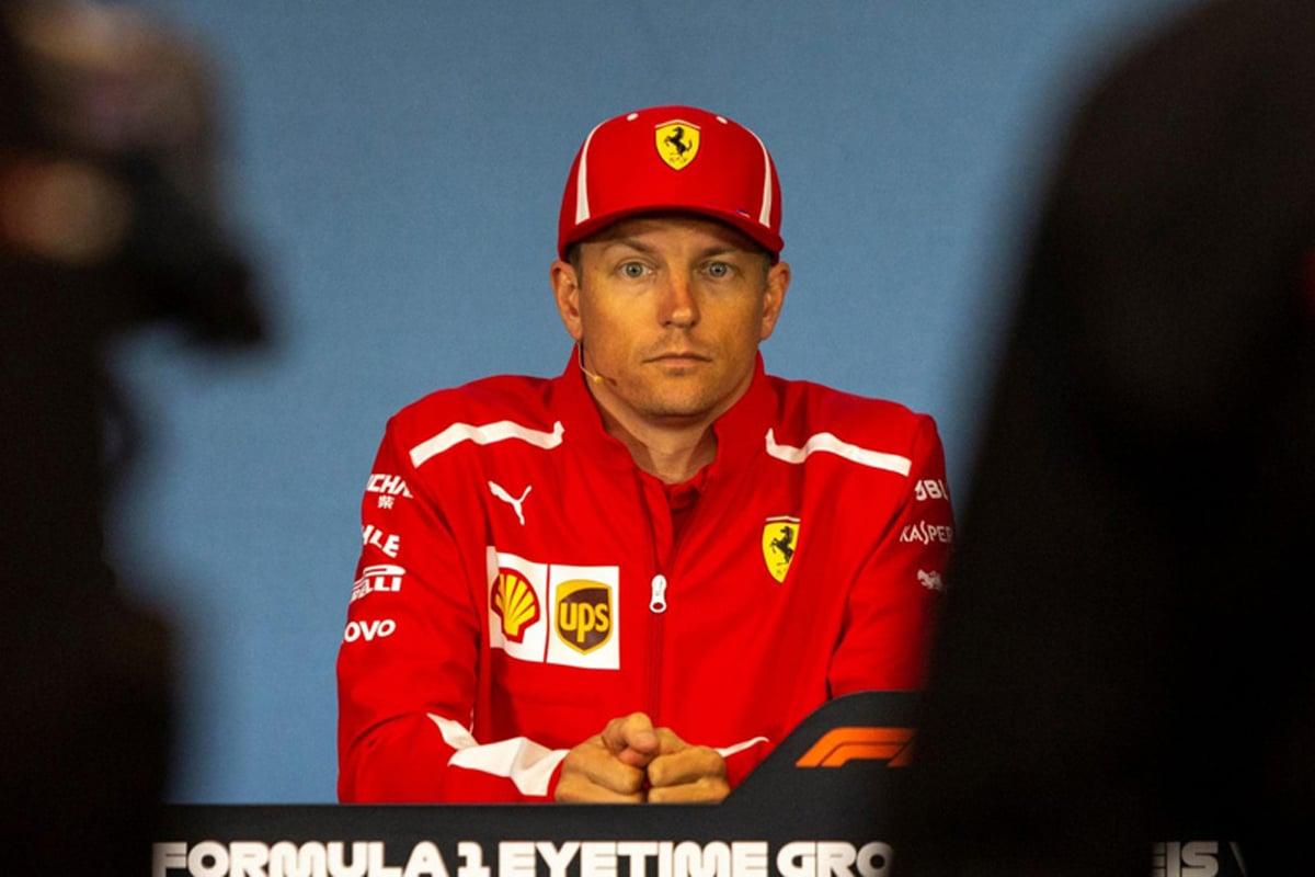 F1 キミ・ライコネン マクラーレン