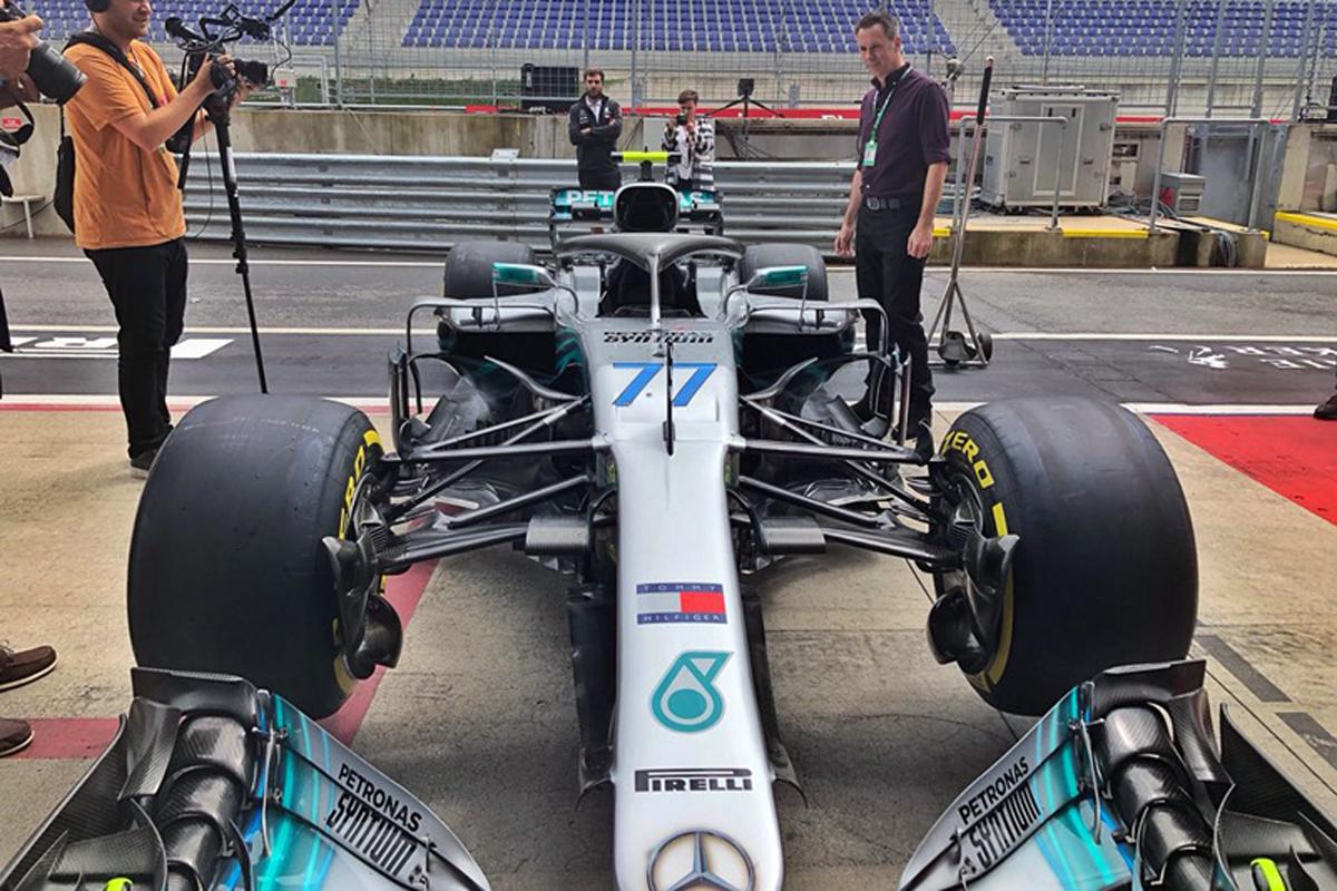 F1 メルセデス オーストリアグランプリ