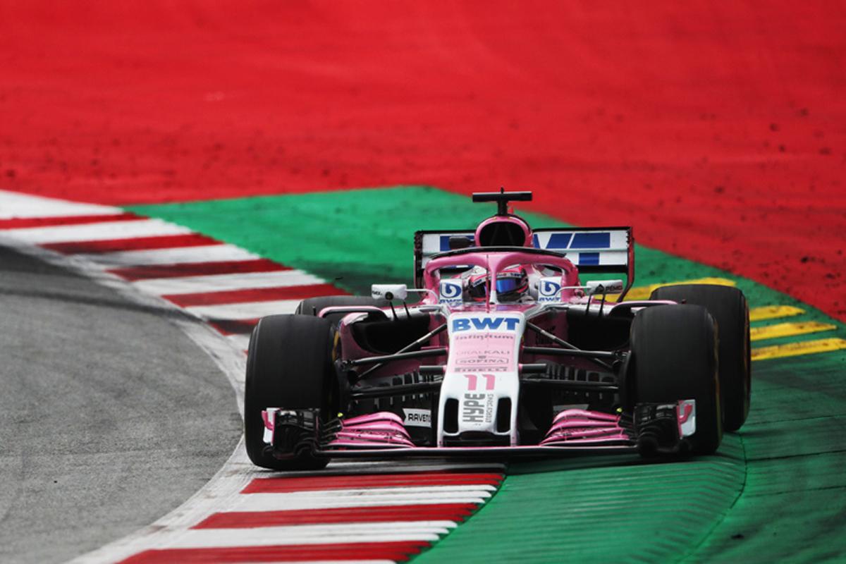 F1 フォース・インディア オーストリアGP