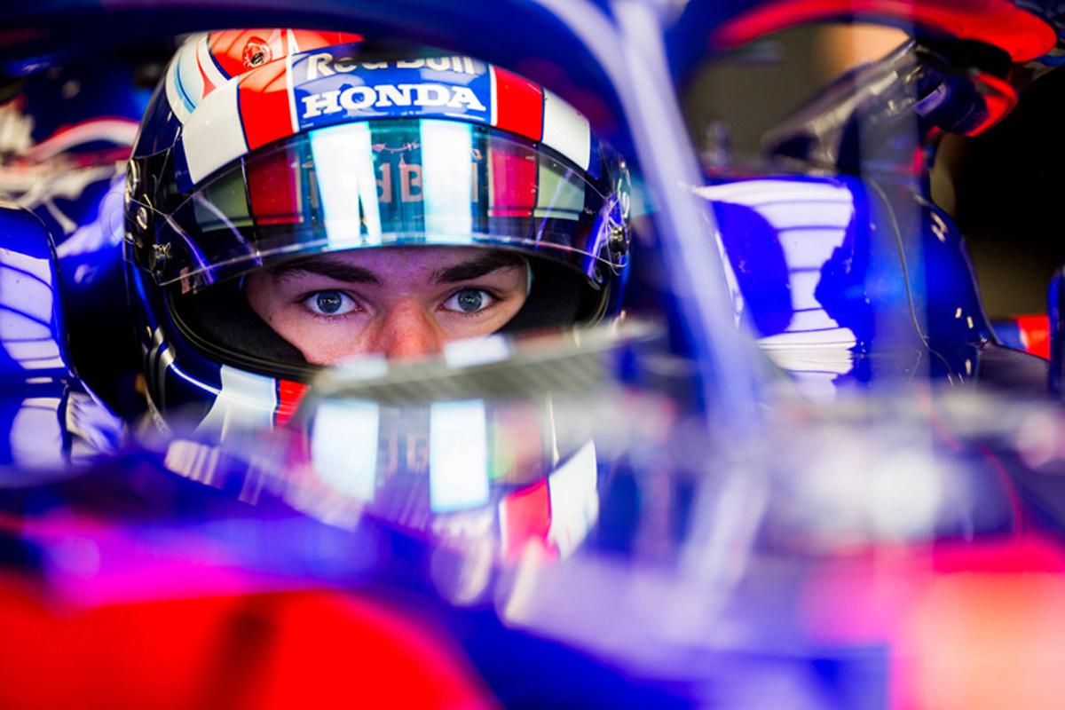 F1 ピエール・ガスリー トロロッソ・ホンダ