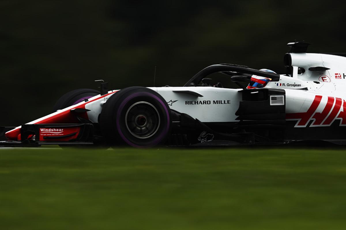 F1 ハースF1チーム オーストリアGP