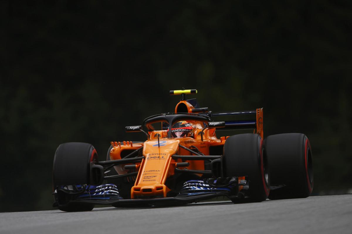 F1 マクラーレン オーストリアGP