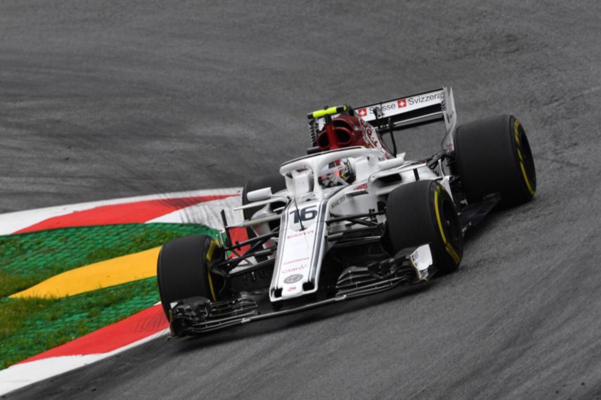 F1 ザウバー オーストリアGP