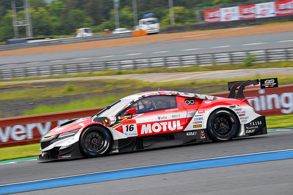 SUPER GT タイ 予選