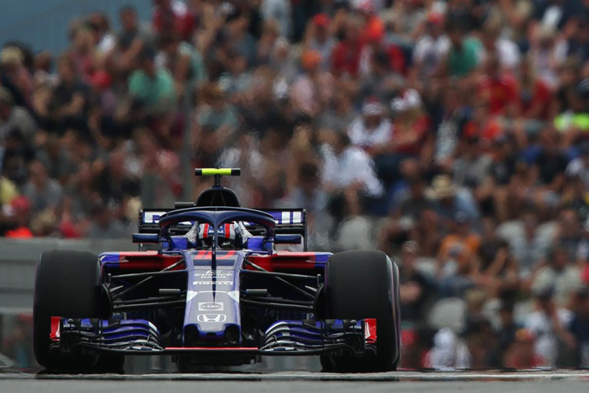 F1 トロロッソ・ホンダ オーストリアGP 予選