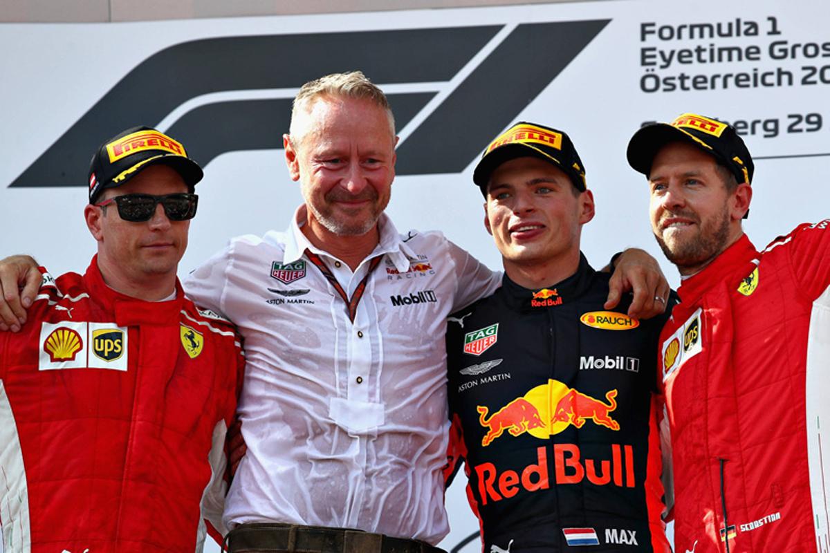 F1 オーストリアGP 決勝