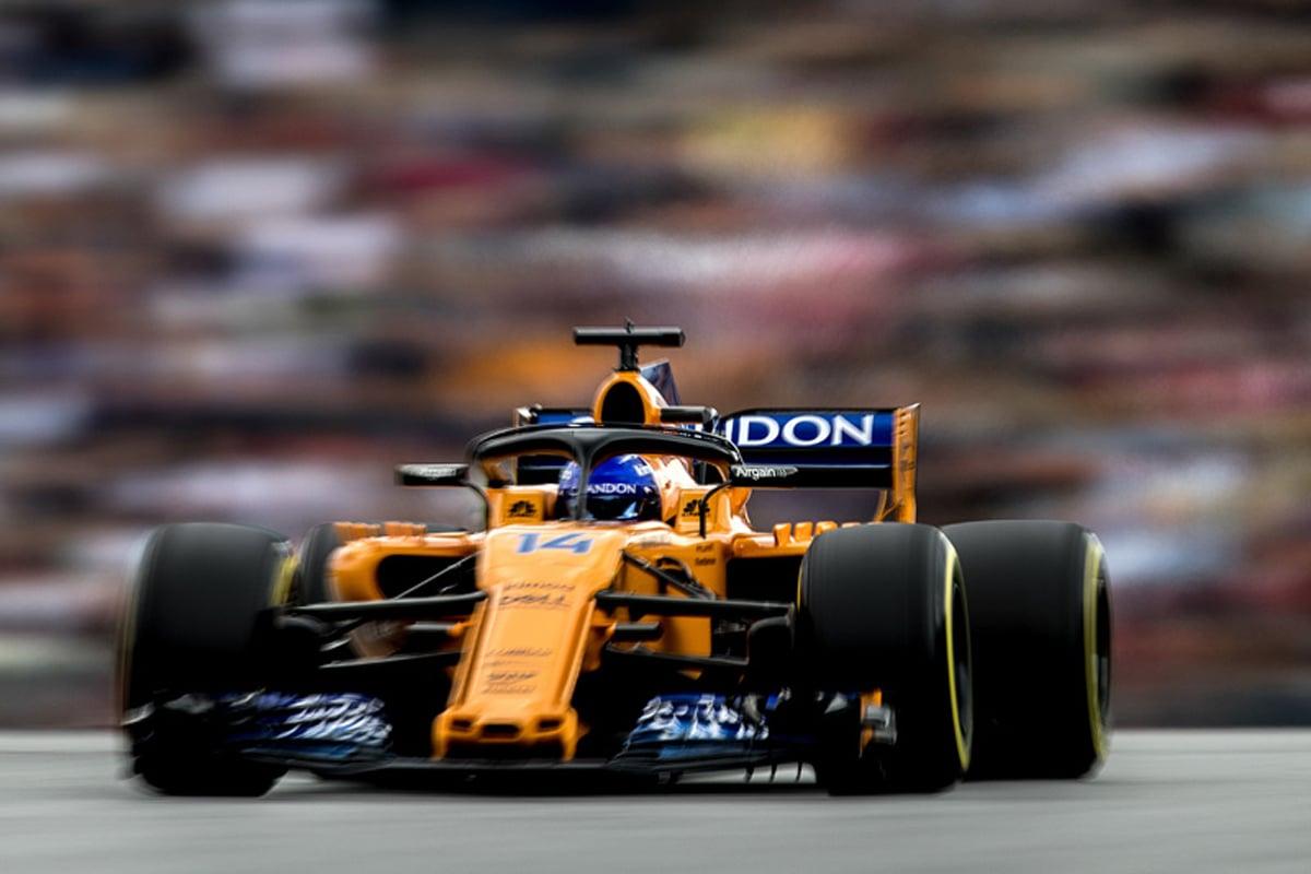 F1 マクラーレン アロンソ オーストリアGP