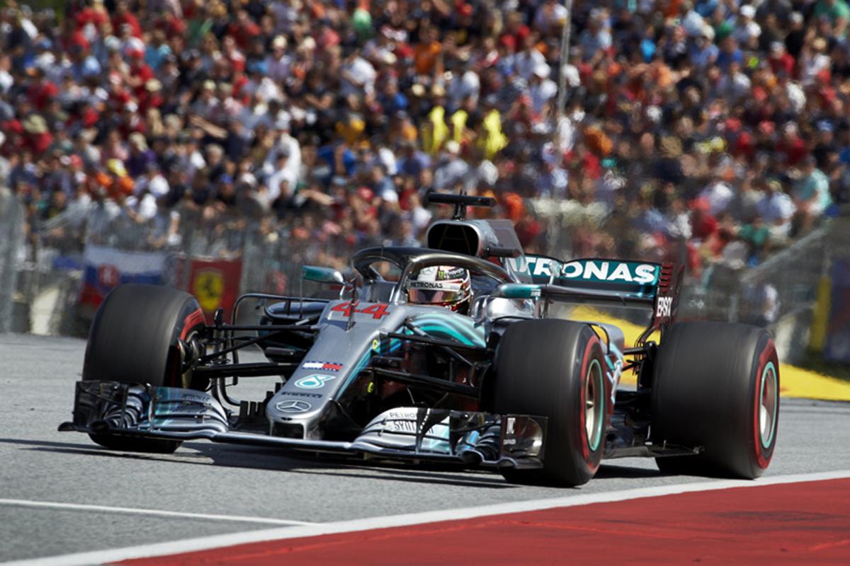 F1 メルセデス オーストリアGP