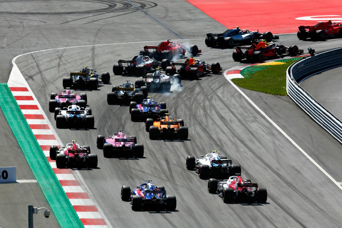 F1 オーストリアGP 決勝 動画