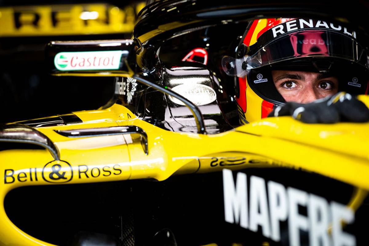 F1 ルノーF1 カルロス・サインツ