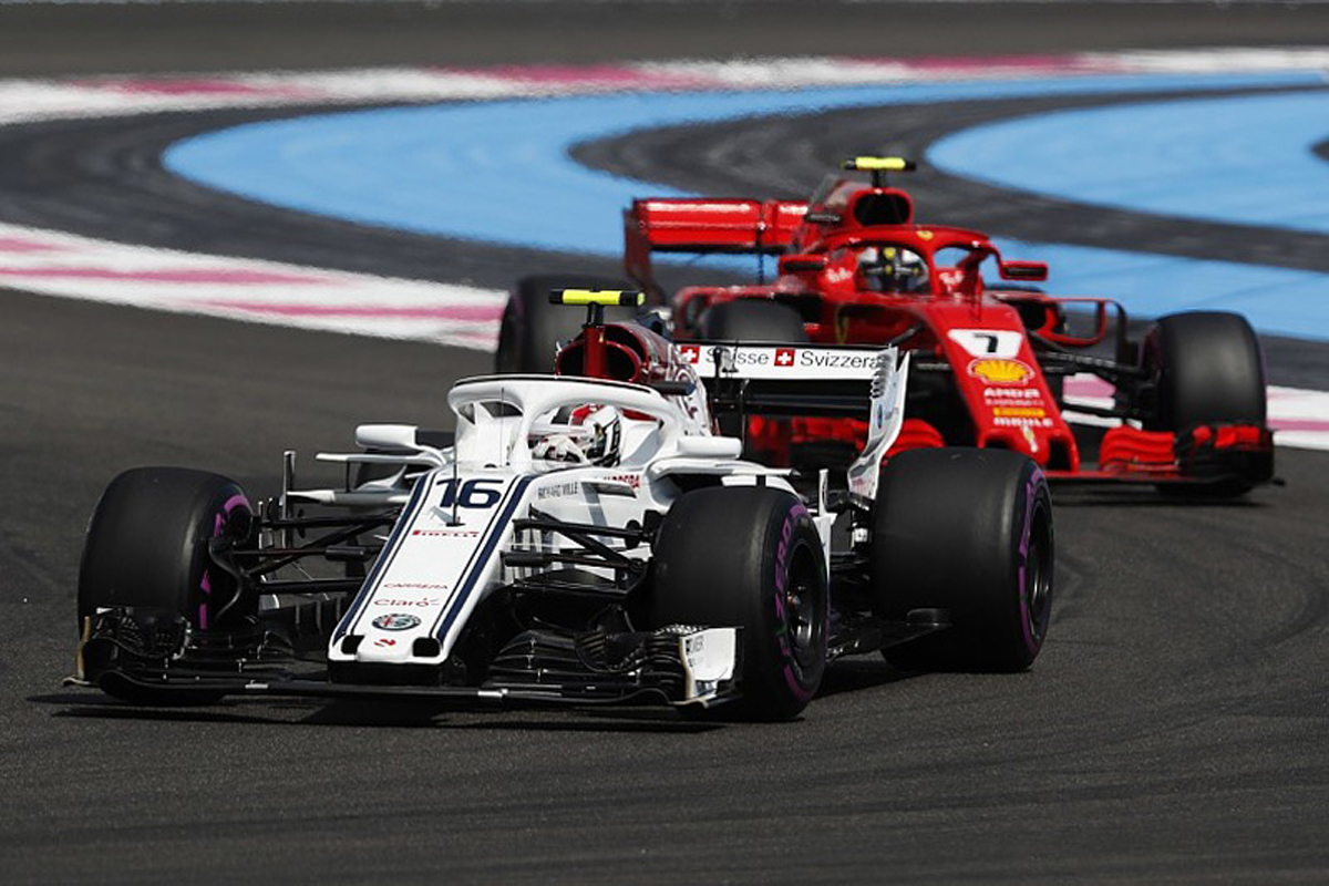 F1 キミ・ライコネン シャルル・ルクレール