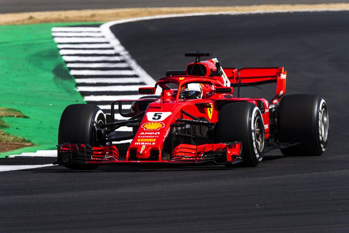 F1 イギリスGP フリー走行2回目