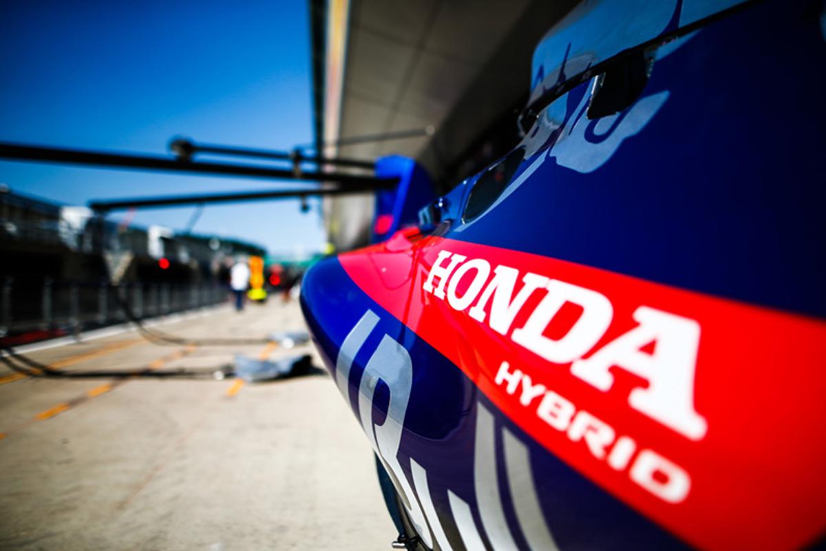 F1 ホンダF1 ブレンドン・ハートレー