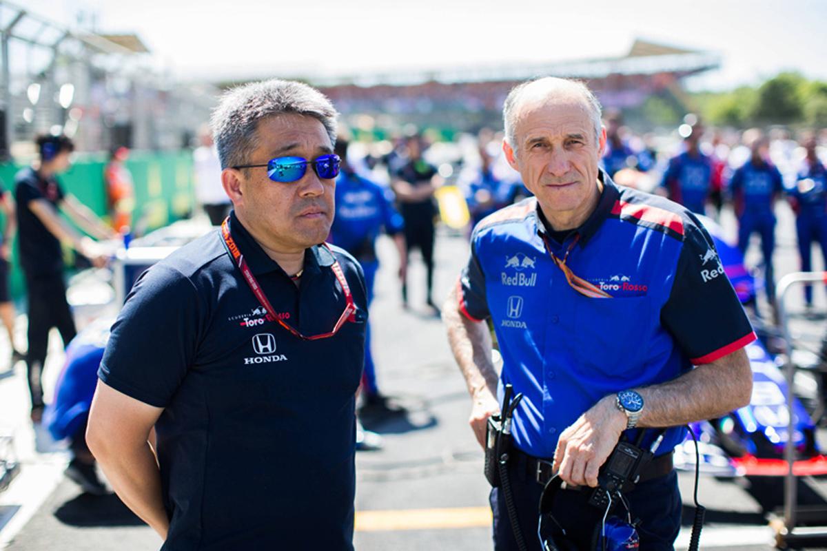 F1 トロロッソ・ホンダ F1イギリスGP