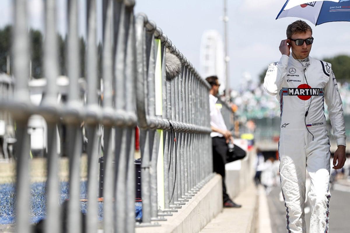 F1 セルゲイ・シロトキン ウィリアムズ