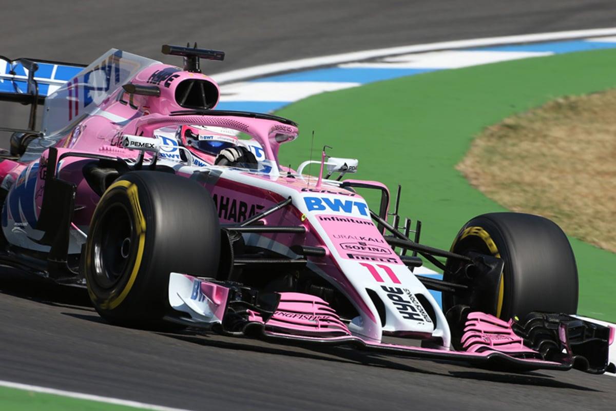 F1 フォース・インディア ドイツGP