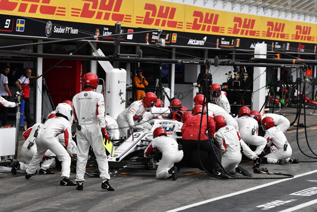 F1 ザウバー ドイツGP