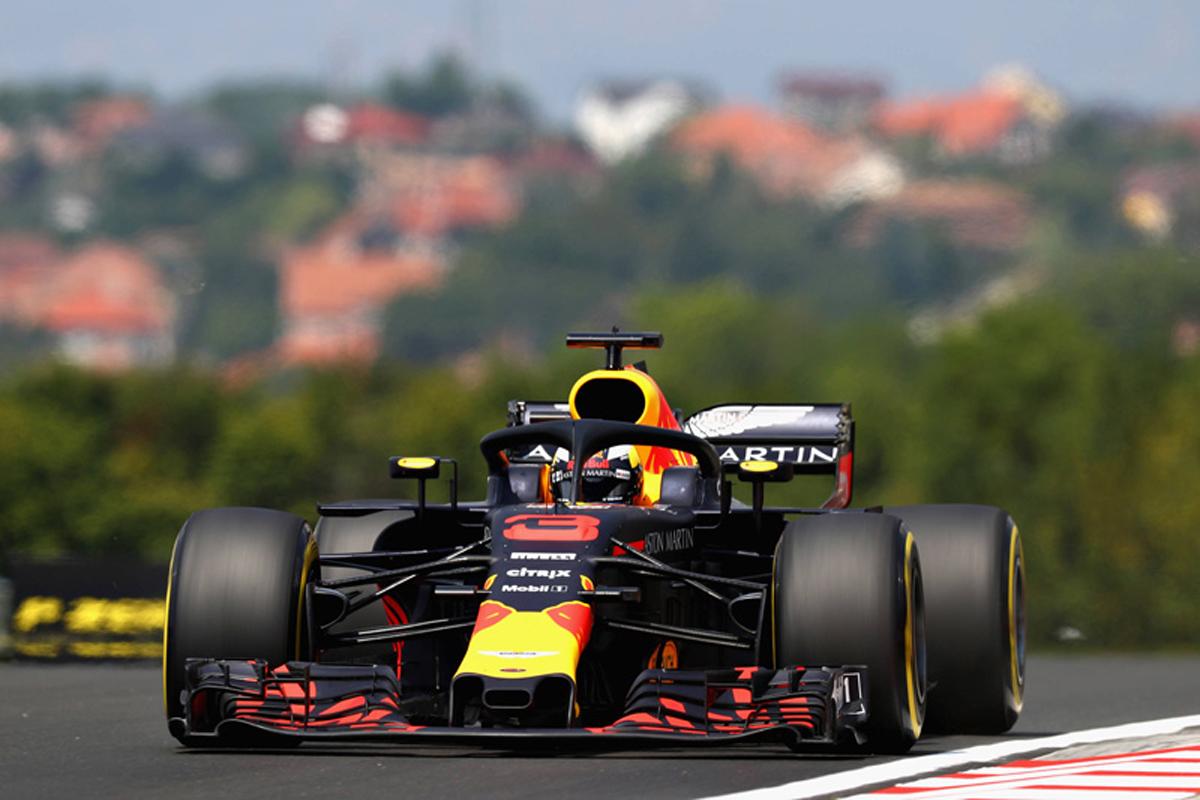F1ハンガリーGP フリー走行1回目