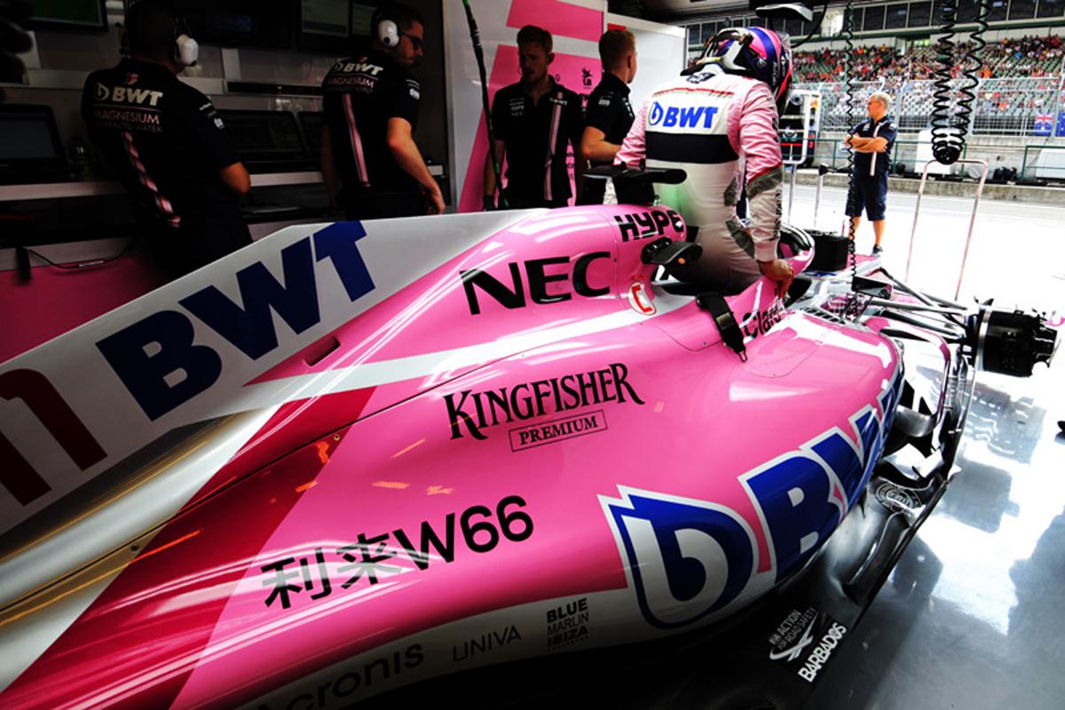 F1 フォース・インディア セルジオ・ペレス