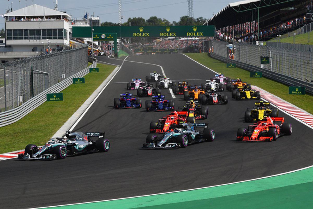 F1 ハンガリーグランプリ