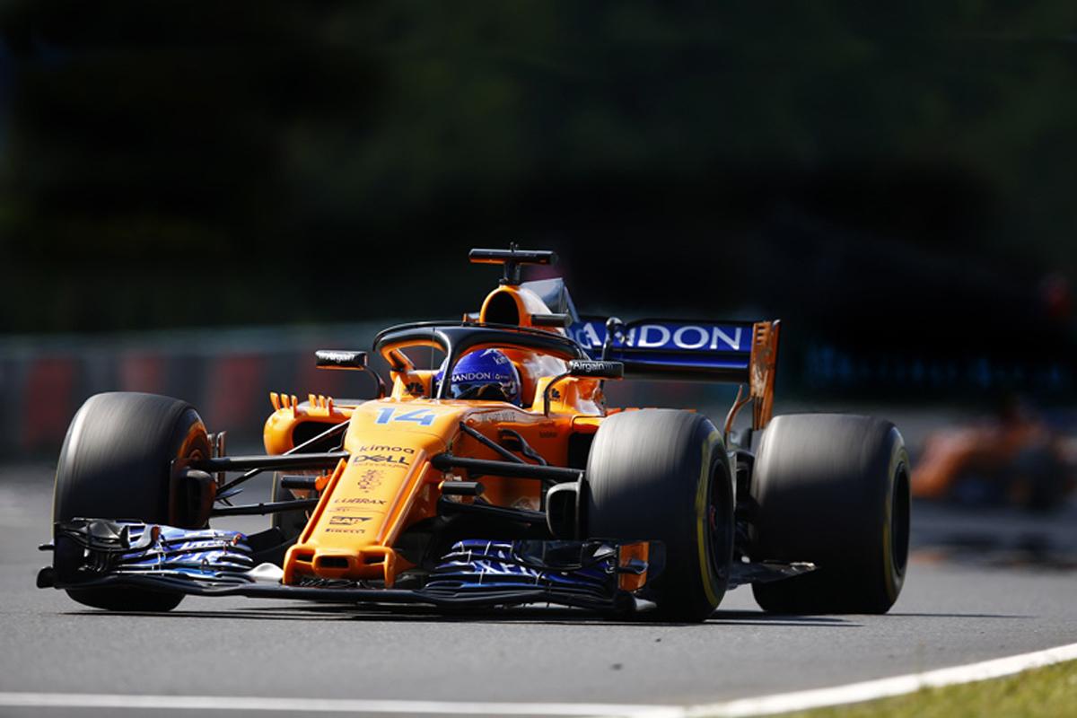 F1 マクラーレン ハンガリーGP