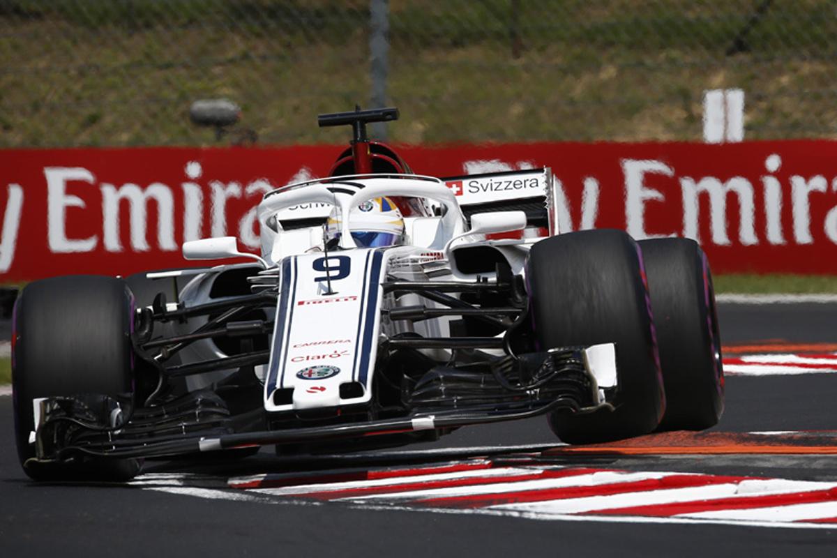F1 ザウバー ハンガリーGP