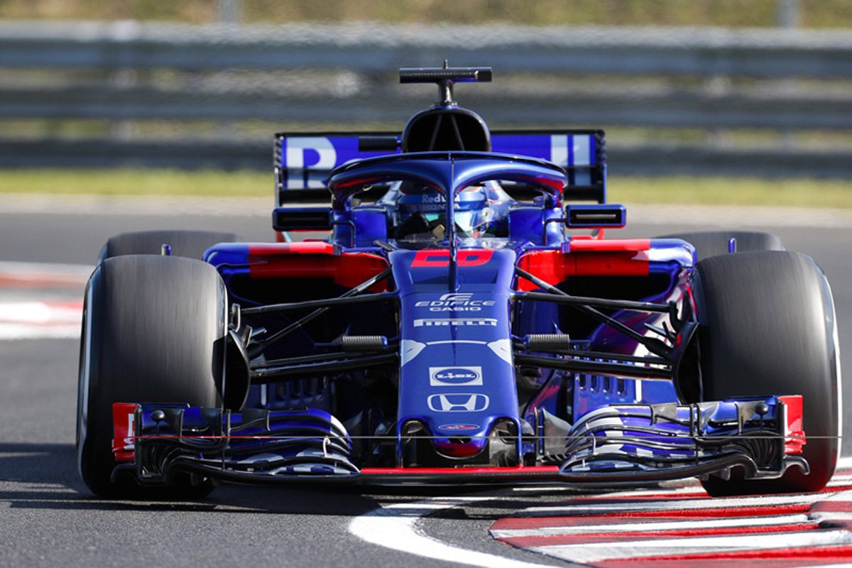 F1 トロロッソ・ホンダ F1ハンガリーテスト