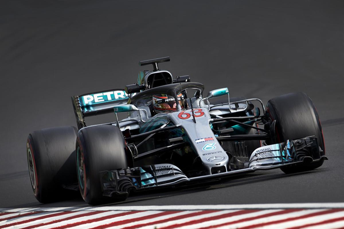 F1 F1ハンガリーテスト ジョージ・ラッセル