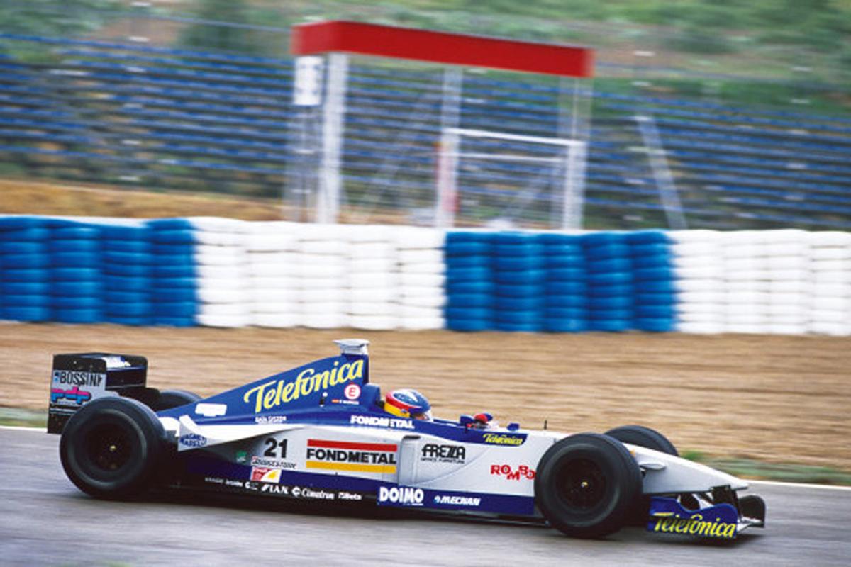 ミナルディ M01 (1999年)②   フェルナンド・アロンソ 歴代F1マシン