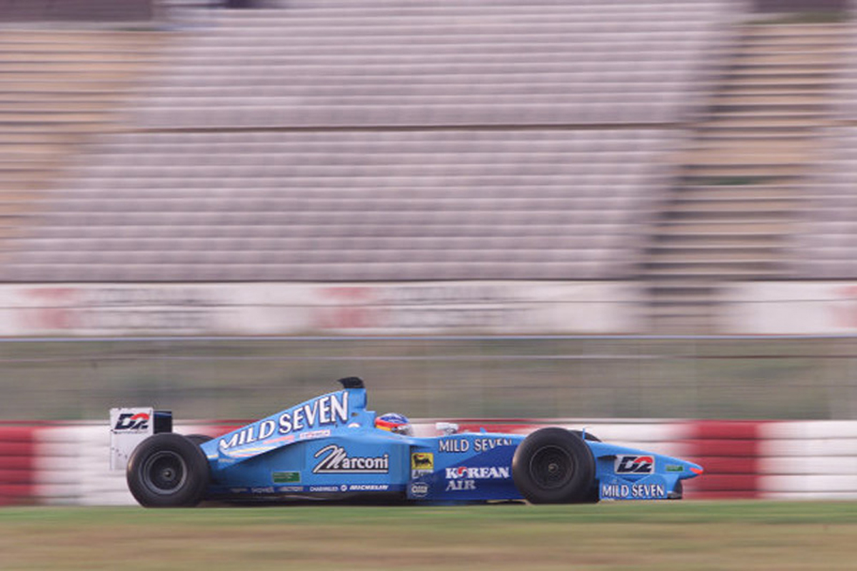 ベネトン B200 (2000年)②   フェルナンド・アロンソ 歴代F1マシン