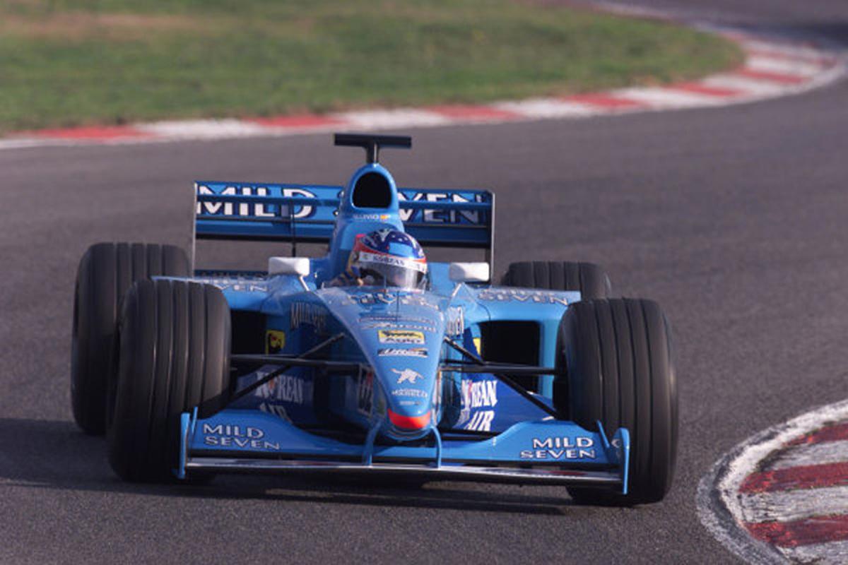 ベネトン B200 (2000年)   フェルナンド・アロンソ 歴代F1マシン