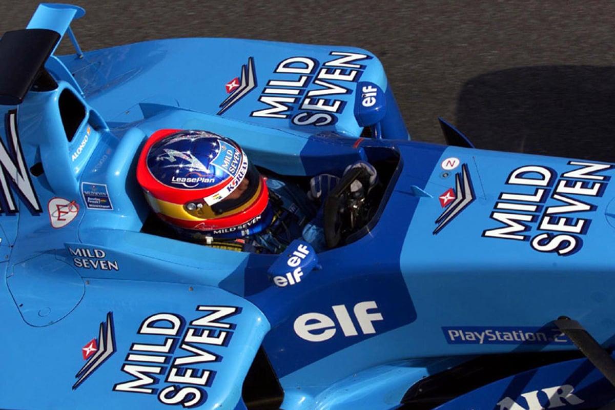 ベネトン B201 (2002年)② | フェルナンド・アロンソ 歴代F1マシン