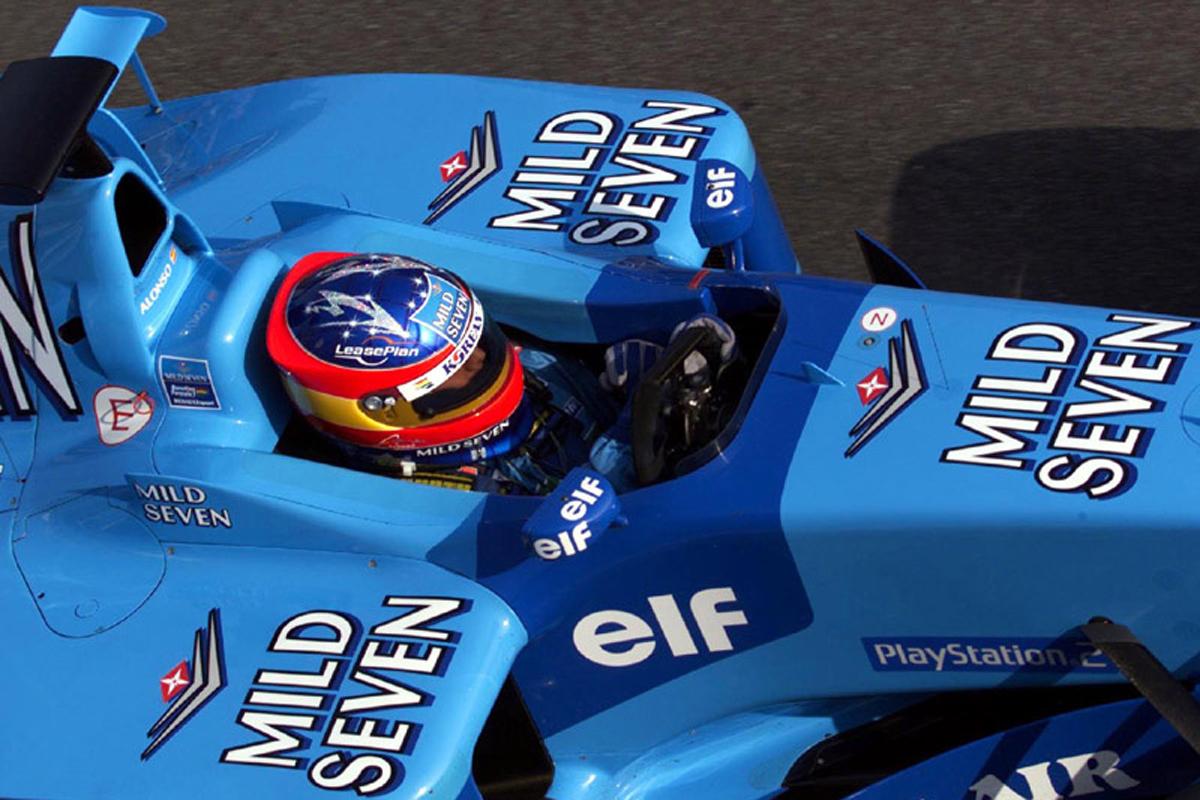 ベネトン B201 (2002年)②   フェルナンド・アロンソ 歴代F1マシン