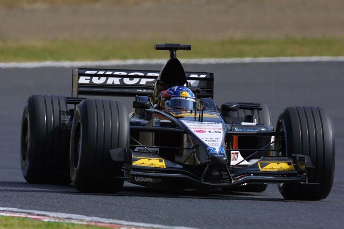 ミナルディ PS01 (2001年)   フェルナンド・アロンソ 歴代F1マシン