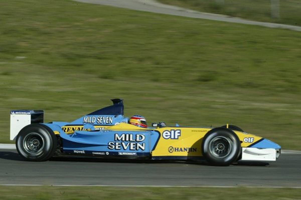 ルノー R202 (2002年)②   フェルナンド・アロンソ 歴代F1マシン