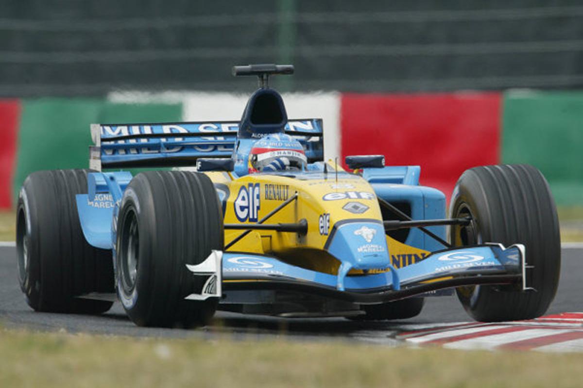 ルノー R23 (2003年)   フェルナンド・アロンソ 歴代F1マシン