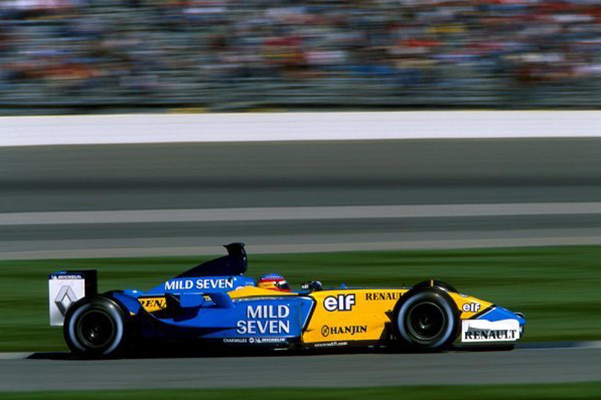 ルノー R23 (2003年)②   フェルナンド・アロンソ 歴代F1マシン