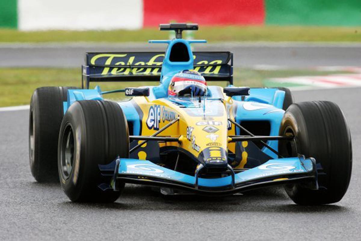 ルノー R24 (2004年)   フェルナンド・アロンソ 歴代F1マシン