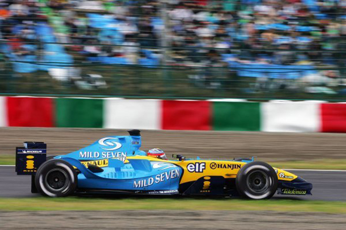 ルノー R24 (2004年)②   フェルナンド・アロンソ 歴代F1マシン