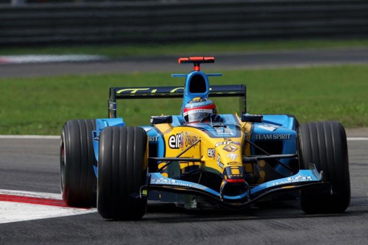 ルノー R25 (2005年)   フェルナンド・アロンソ 歴代F1マシン