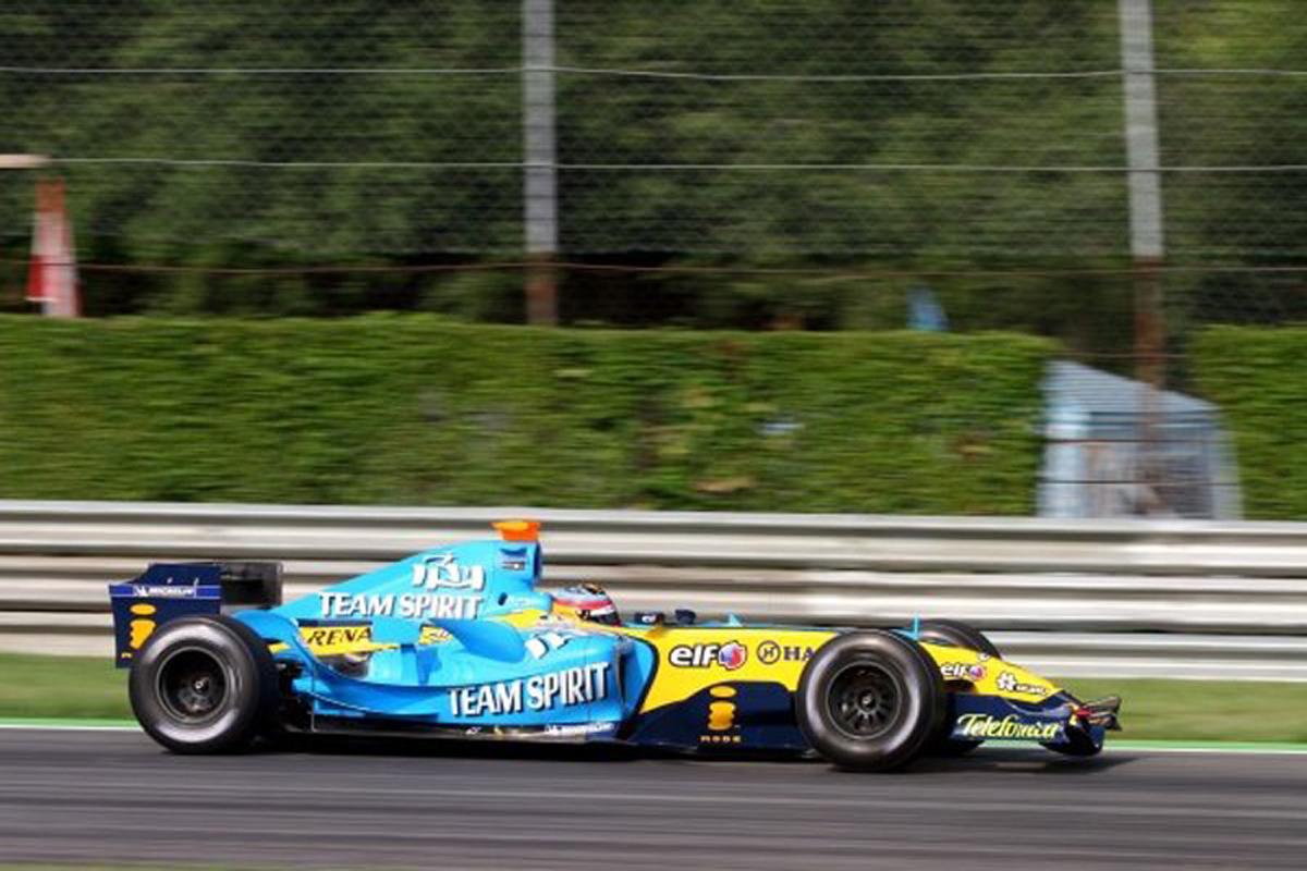 ルノー R25 (2005年)②   フェルナンド・アロンソ 歴代F1マシン