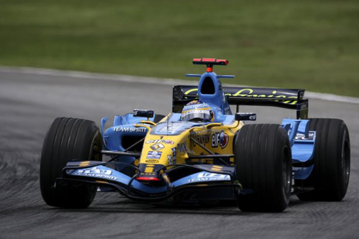 ルノー R26(2006年)   フェルナンド・アロンソ 歴代F1マシン