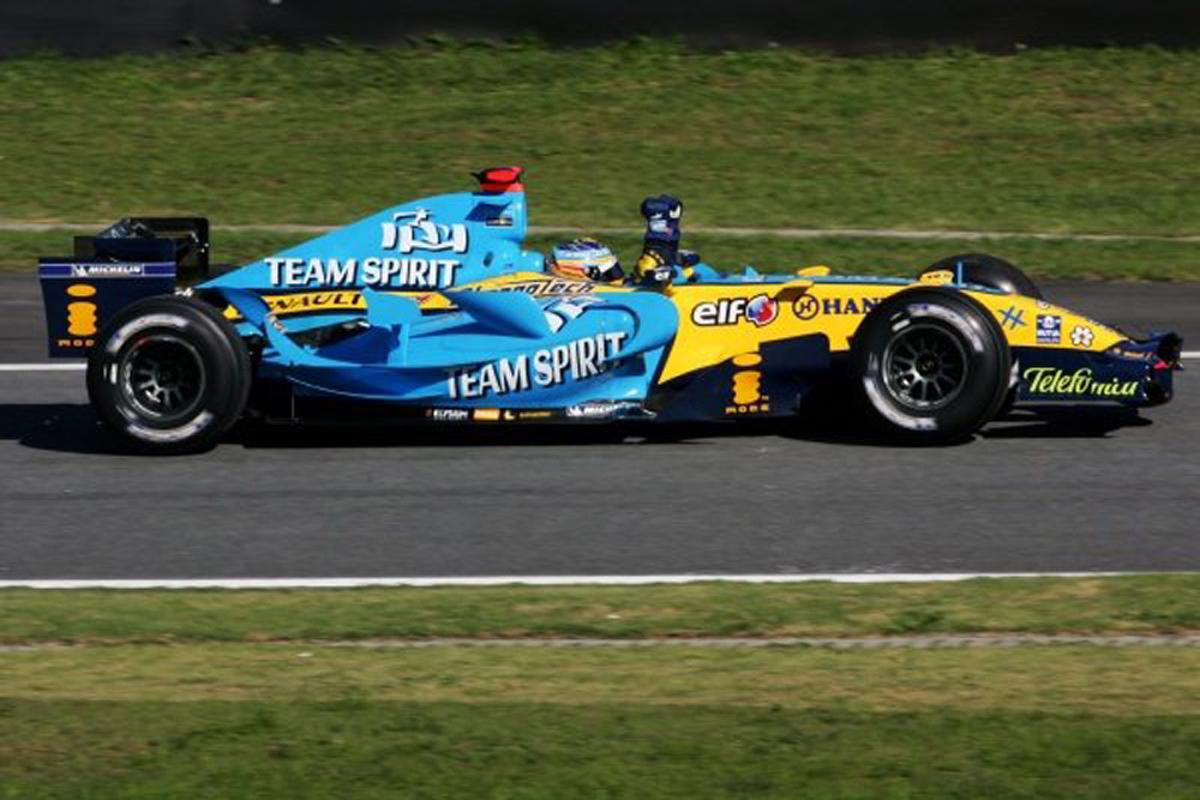 ルノー R26(2006年)②   フェルナンド・アロンソ 歴代F1マシン